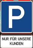 Hauseigener Kundenparkplatz bei schlafwelt Uelzen