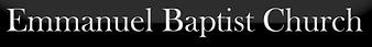 Emmanuel Baptist Church Logo banner.png