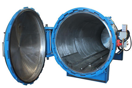 Autoclave (Hydraulic, Side Opened) - PT. ASME - Indonesia