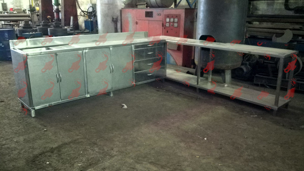 Stainless Steel Kitchen Table Top