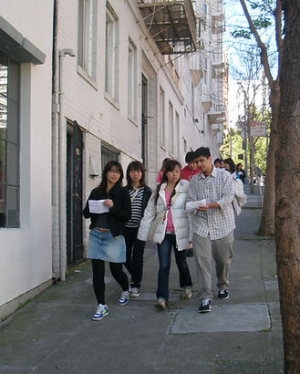 VIA students walking the street_edited.j