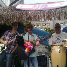 With Jack Fossett & Tiki Thom Starkey.