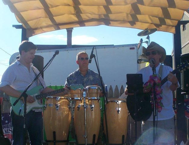 Tiki Thom Beach Band at Pirates Patio in Old Orchard Beach.