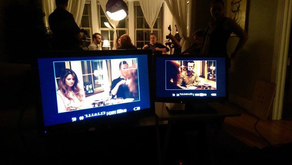 A view from video village