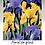 Thumbnail: FLORAL ON BLACK Decoupage Rice Paper-for Furniture & Decor -by Dixie Belle Paint