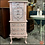 Thumbnail: Soft PINK JEWLERY ARMOIRE Dresser Box - Painted Dixie Belle Silk Paint in CONCH