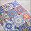 Thumbnail: COLORFUL TILES Decoupage Rice Paper- for Furniture & Decor- by Dixie Belle Paint