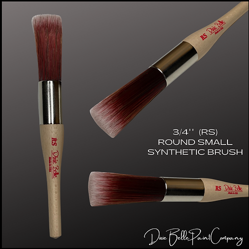 DBP Dixie Belle ROUND SMALL RS Synthetic Paint Brush Brushes