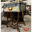 Thumbnail: Antique 1930's LEATHER LUGGAGE SUITCASE SIDE TABLE - Chalk Painted Plant Stand