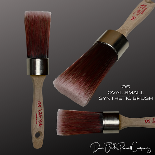 """Dixie Belle OS OVAL SMALL BRUSH 1 1/4"""" Synthetic Paint Brushes"""