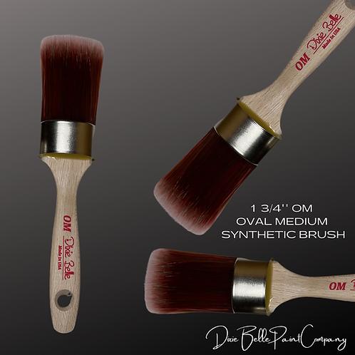 "Dixie Belle OM OVAL MEDIUM BRUSH 1 3/4"" Synthetic Paint Brushes"