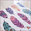 Thumbnail: FEATHERS Decoupage Rice Paper- for Furniture & Decor- by Dixie Belle Paint