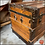 Thumbnail: 1800's Antique STEAMER TRUNK - Metal/Wood/Leather-Victorian Era- GREAT CONDITION