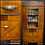 Thumbnail: ART DECO Antique 1920s WATERFALL Style HUTCH China Cabinet