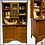Thumbnail: Antique HOOSIER CABINET-Canadian Maple Wood Bakers Station- Farmhouse Kitchen