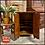 Thumbnail: Vintage Antique Mid Century TIGER OAK RECORD CABINET Shelf- Excellent Condition
