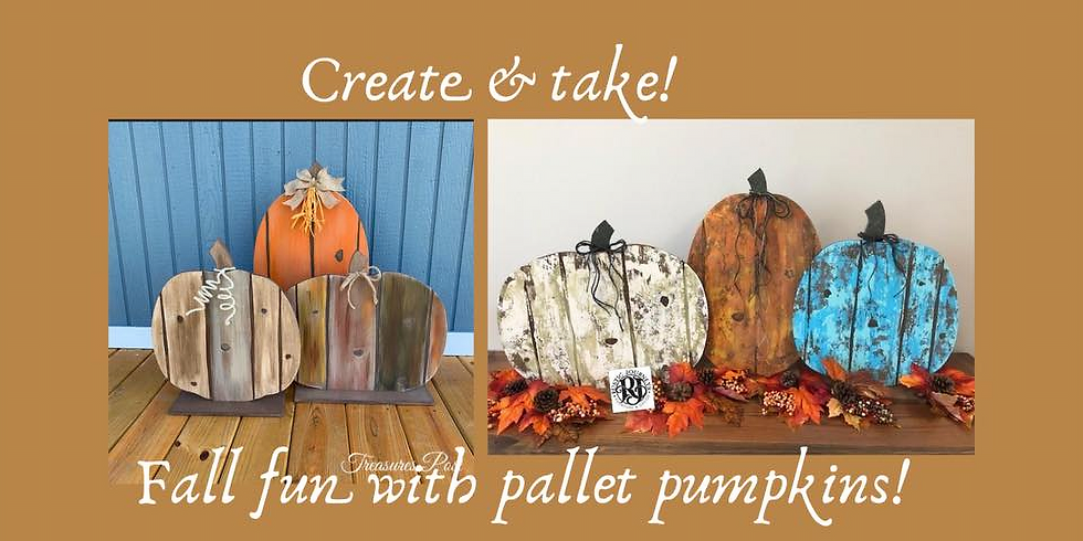 Fall Wood Pumpkin *Create & Take!*