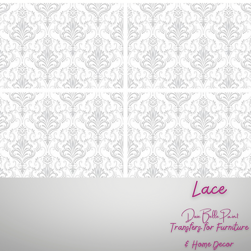 LACE - Transfers for Furniture & Decor - by Dixie Belle Paint