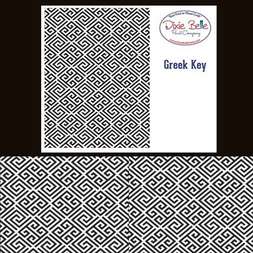 GREEK KEY STENCIL by Dixie Belle Paint - For DIY Furniture & Home Decor