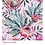 Thumbnail: TROPICAL  ON PINK Decoupage Rice Paper- for Furniture & Decor- by Dixie Belle