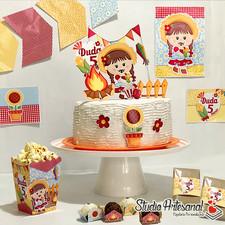 Kit mini festa Junina