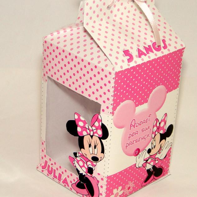 caixinha Minnie Rosa