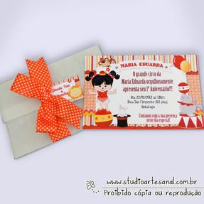 Convite Super Laço