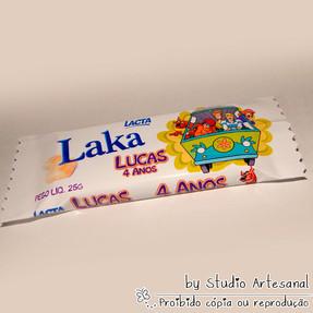 Chocolate Laka Personalizado