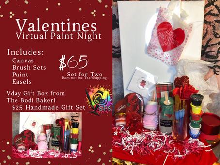Valentines Virtual Paint Night