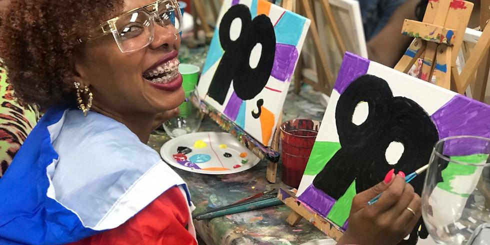 90's RnB/Hip Hop Paint Night