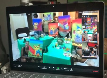 Virtual Sip n Paint Parties