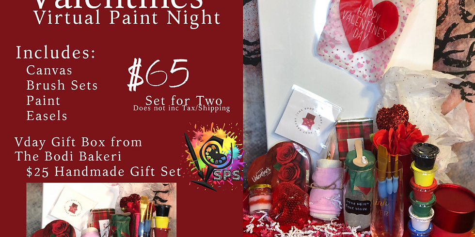 Rsvp for the Valentines Virtual Event on  2/14/2021