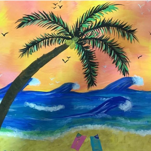 Spring Virtual Jamboree Paint Party