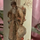 "Thumbnail: Candles, hand embellished vintage Christmas prints . 8"" tall"