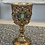 Thumbnail: Vintage jeweled goblet