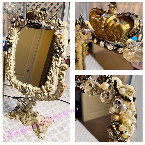 Vintage Shabby Chic Vanity mirror