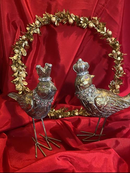 Jeweled love birds