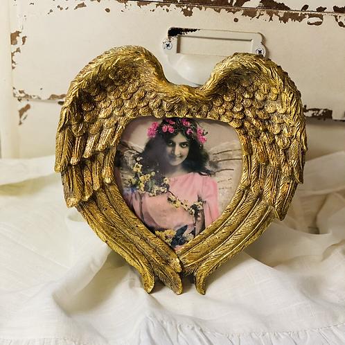 Golden Angel heart