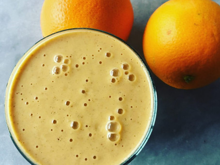 Creamy Dreamy Orange Smoothie