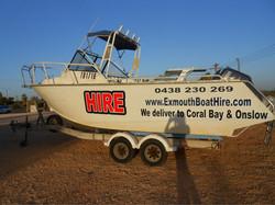 6m Hire Boat