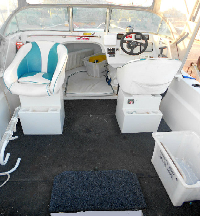 6m Polycraft Hire Boat:Cabin