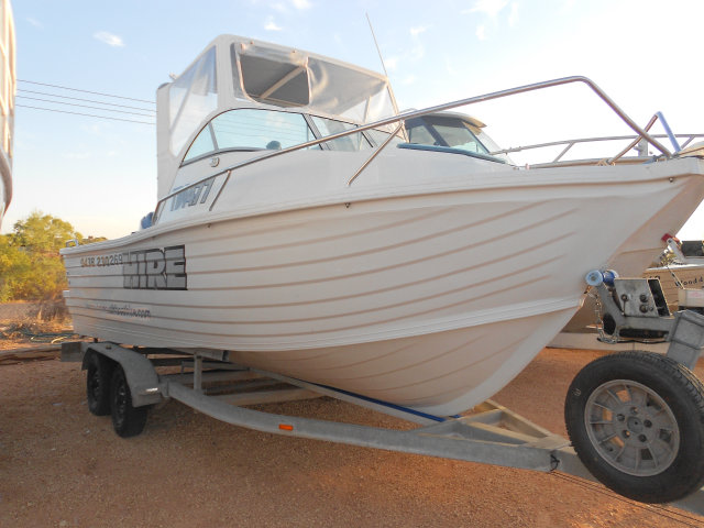 6m Polycraft Hire Boat