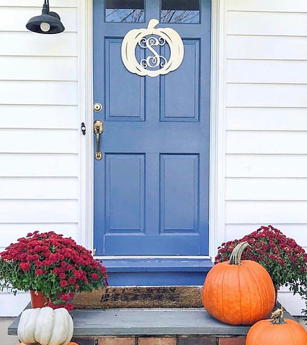 Pumpkin door