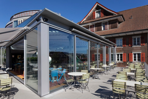 Das Hotel Hirschen in Oberkirch (LU)