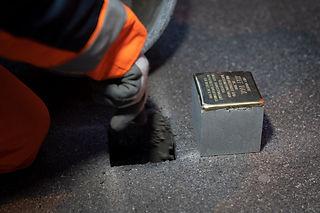 Erste Steinsetzung in Zürich am 27. November 2020