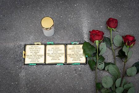 Stolpersteine in Zürich für Familie Rothschild