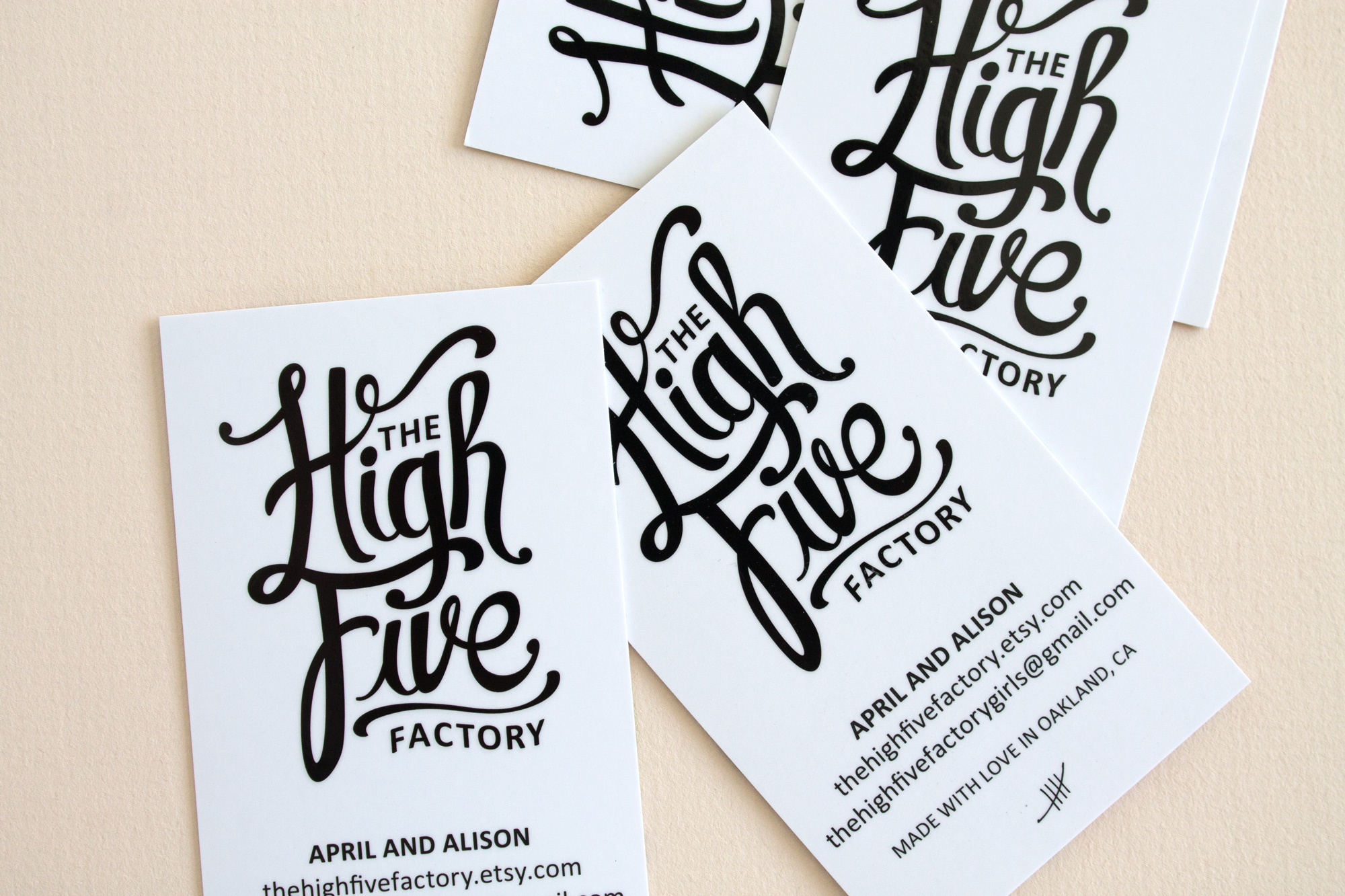 Logotype for The High Five Factory