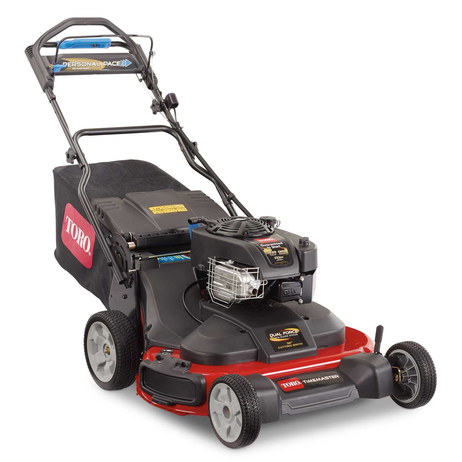 Push mower WITH self propelled 135-159