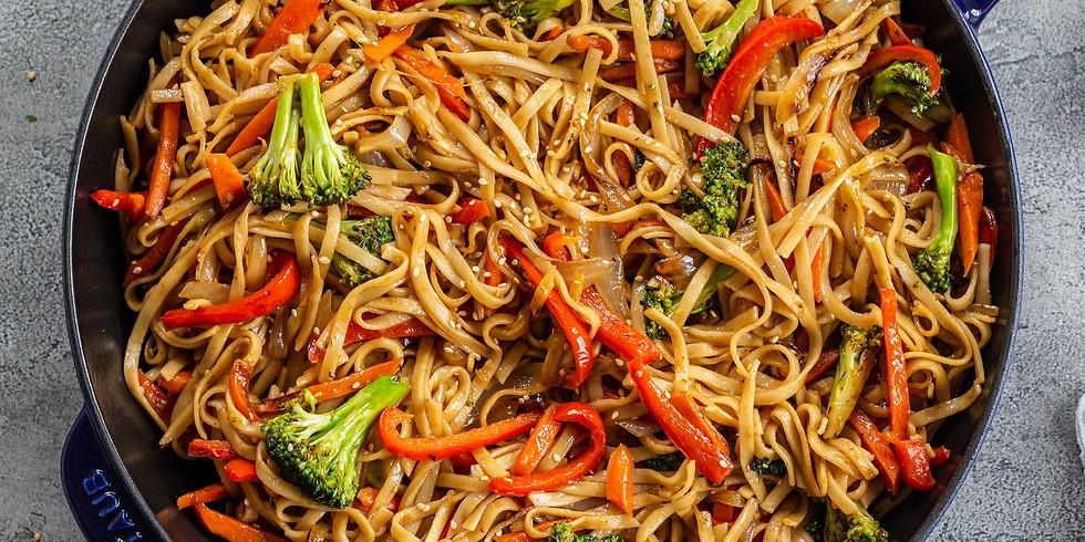 Vegetable Spaghetti Lo Mien