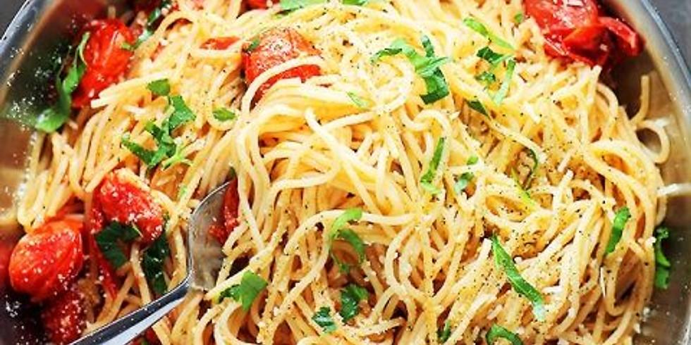 Date Change - 8/31 California Spaghetti